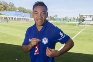 Marco, your club is named after its sponsor - we don't actually need to read the badge. (Photo: eluniversal.com.mx)
