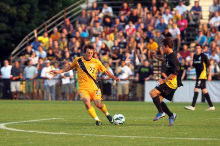 Marquette Univserity vs University of Wisconsin-Milwaukee (Photo via SoccerByIves.com)