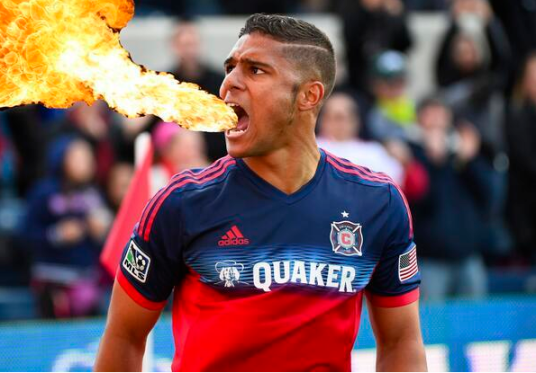 Weapon Q spits hot FIRE (image: @ChicagoFire)