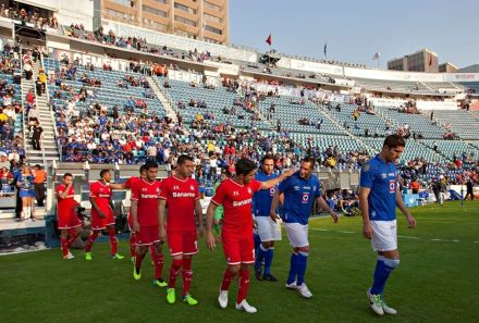 A rivalry as old as football itself: red vs blue (Photo: trespatadas.com)