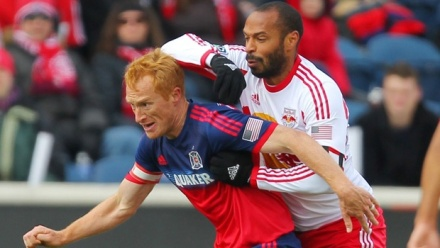 A new combination of defenders behind Red may have to slow down the RBNY attack.  (photo: mlssoccer.com)