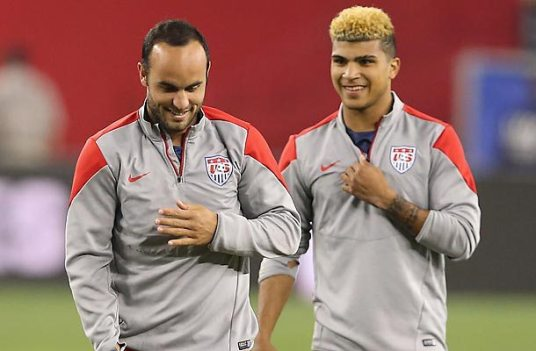 Time to move on, LD. The next generation is already in its regrettable blond highlights phase. (Photo: soccer.si.com)