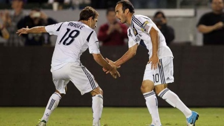 There will be handshakes and pleasantries between these two on Sunday. But will there be goals between them? (photo: mlssoccer.com)