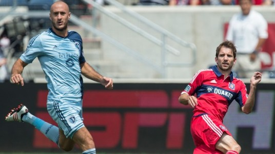Mike Magee will try and lead the team to consecutive wins on Sunday. (chicago-fire.com)
