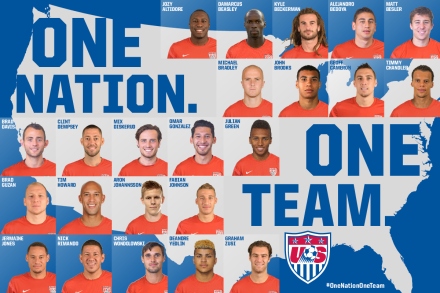 Your USMNT 2014 World Cup squad  (Image: ussoccer.com)