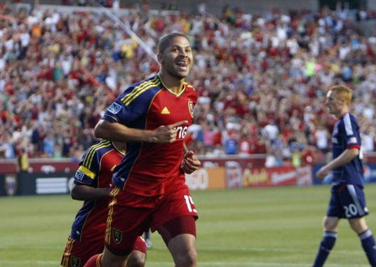 Chicago Fire hope to turn smiles like these upside down on Saturday night (photo: desertnews.com)