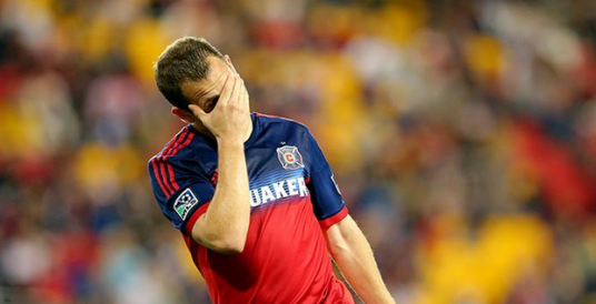 Shock and Awe: Harrison Shipp notches his first hat trick for Chicago Fire (photo: Chicago Fire Facebook page)