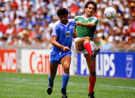 El Tri's top scorer in '86, defender Fernando Quirarte (Photo: eluniversal.com)