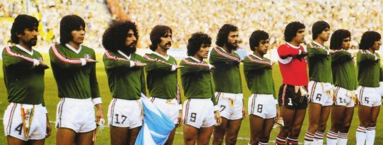 Now if it had been a World Cup of hair... (Photo: aztecadeportes.com)