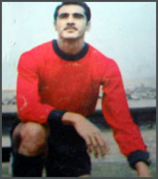 Jaime Belmonte: the man who scored the goal  that won El Tri its first point in a World Cup. (Photo: primeraa.mforos.com)