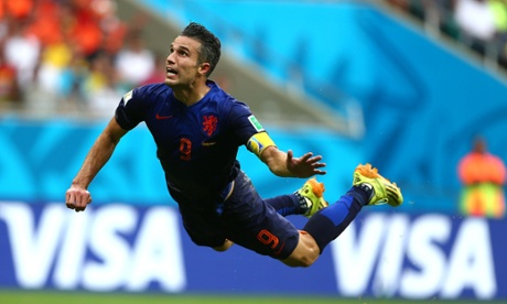 Some guy from Holland in mid-air...there's gotta be a snappier way to say that... (Photo: theguardian.com)