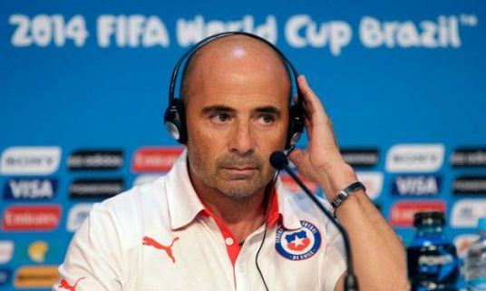 The look of a man who has just been told Sam would rather go drinking with Miguel Herrera. (Photo: timesunion.com)