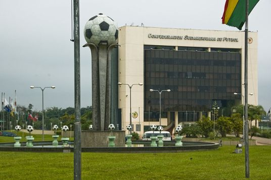 CONMEBOL laughs at your discreet corporate landscaping trends (Photo: wikimedia.org)