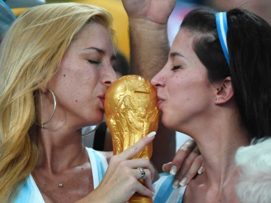 No pressure, Argentina - but your fans know what they want out of this tournament. (Photo: sports.ndtv.com)