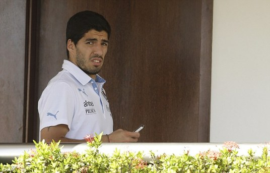 Don't get confused, Luis: he's saying you have a shot at an appeal because you DIDN'T get a card. (Photo: dailymail.co.uk)