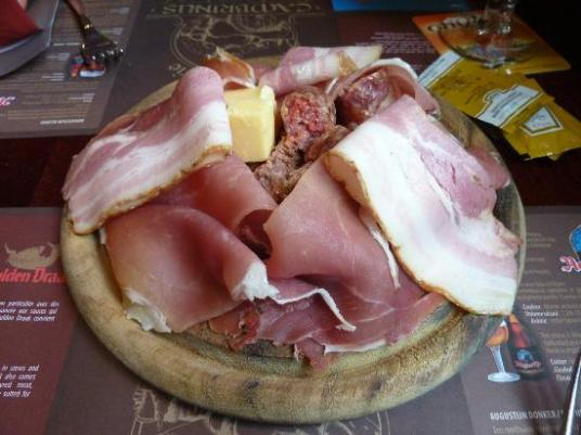 It is possible your guests may notice when you switch out the charcuterie for bologna... (Photo: tripadvisor.co.uk)