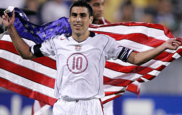 CONCACAF even got a man in the official team of the tournament: Claudio Reyna (Photo: scoreatl.com)