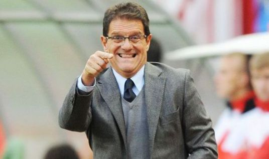 Fabio remembers there is another wealthy, World-Cup-hosting nation out there... (Photo: express.co.uk)