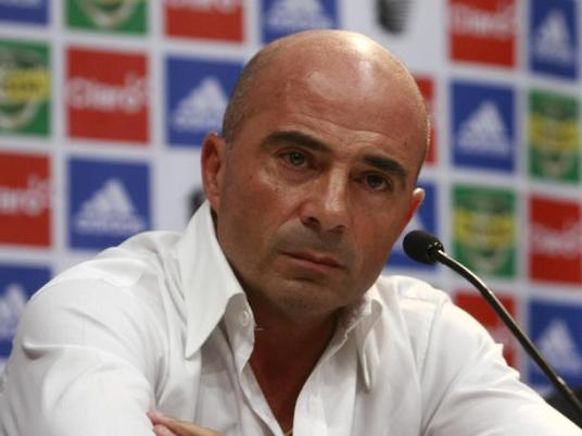 Sampaoli considers exactly how many fucks he is willing to give about history (Photos: peru.com)