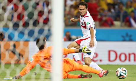 The true shock of the tournament: Marcos Urena scored. (Photo: theguardian.com)