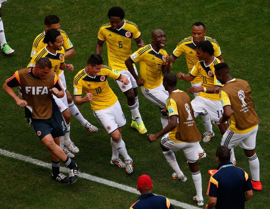 Dancing all the way to (a quarterfinal in) Fortaleza? (Photo: ibtimes.co.uk)