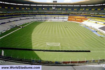 The old Estadio Jalisco still look good and can seat 70,000