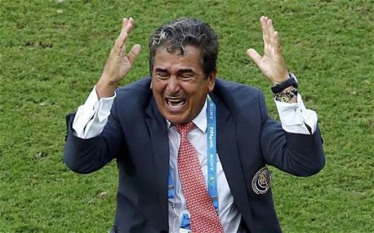 It's just a pun, Jorge. Take it easy. (telegraph.co.uk)