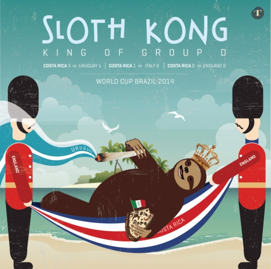 The world needs more Sloth Kong. Vamos Ticos. (ticotimes.net)