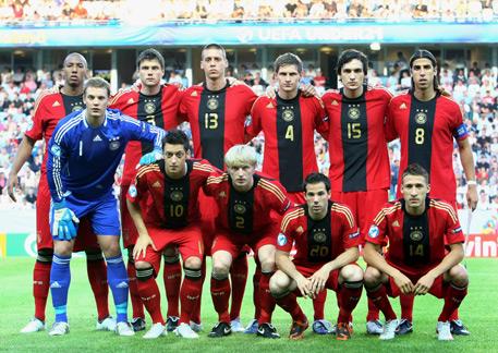 Six future World Cup finalists and Fabian Johnson. (conti-online.com)