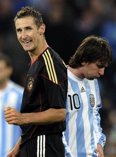 Yep, it's time for your quadrennial besting of Argentina, Miroslav. (sports.inquirer.net)