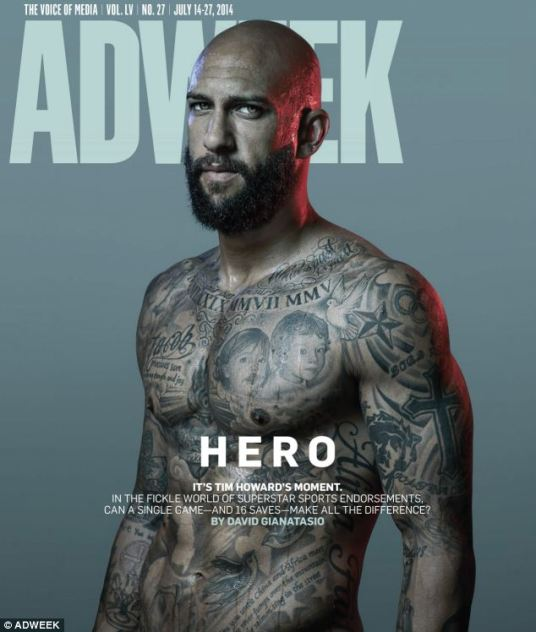 Is Tim Howard the perfect brand partner? asks Ad Week. Brace yourself for the marketing blitz. (adweek.com)