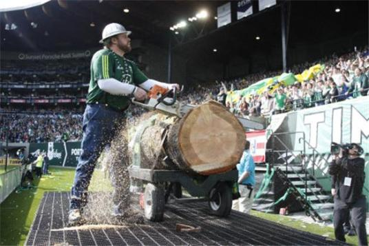 If one of these CCL games gets out of hand in Portland, the Timbers may need more than one tree. (nwsportsbeat.com)