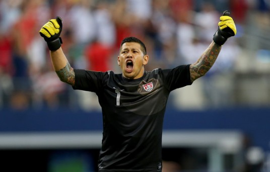 Nick Rimando's quickness won this game (zimbio.com)