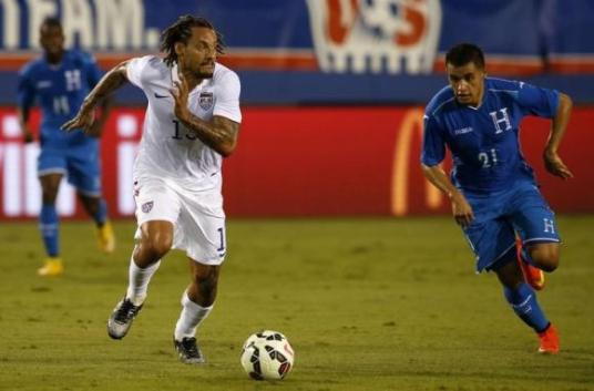 Wait, did I just see Jermaine Jones at centerback? Yes...yes you did (uk.reuters.com)