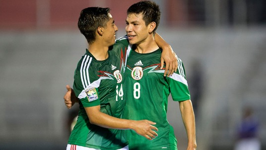 Hirving Lozano: still the top scorer in the tournament (concacaf.com)