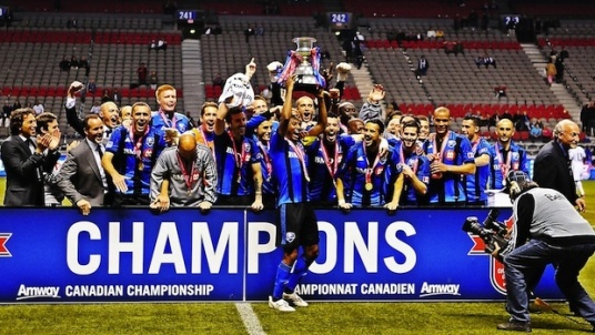 Champions of Canada in 2014. CONCACAF champs in 2015? (impactmontreal.com)