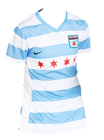 Official 2014 Chicago Red Stars Kit