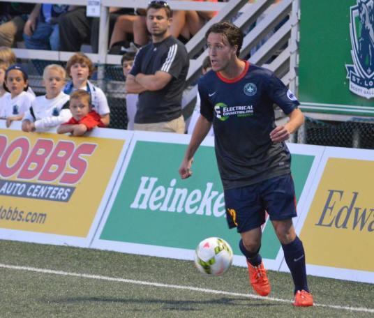 Patrick Doody St Louis Football Club Soccer USL MLS